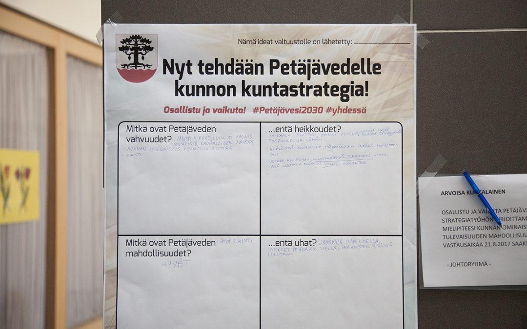 Strategialakanat välittävät kuntalaisten terveiset valtuustolle