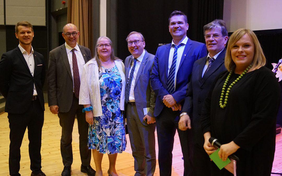 150-vuotiasta Petäjäveden kuntaa juhlittiin yhteisöllisyyden hengessä