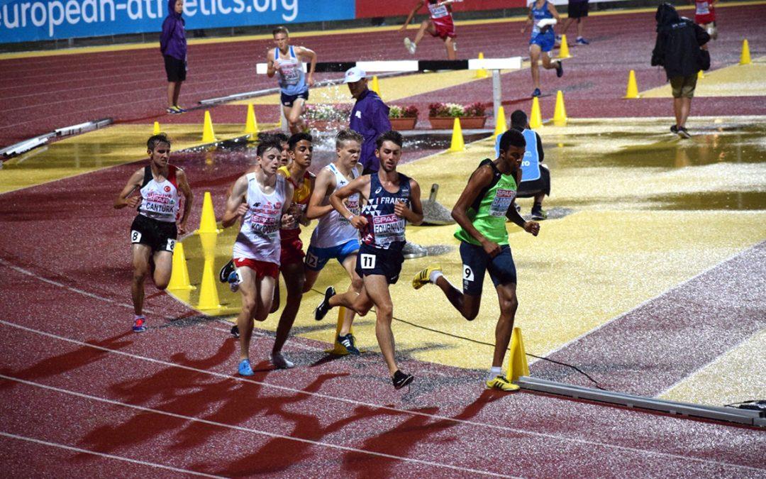 Eemil Helander kiirehti kahdeksanneksi nuorten EM-kisojen 2000 metrin estejuoksussa