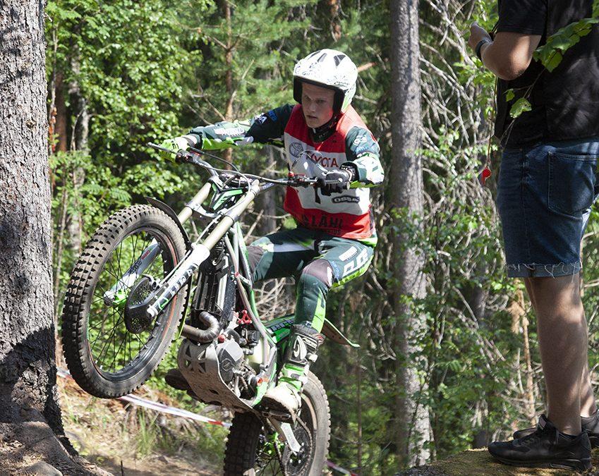 Timo Myöhänen taituroi Naula-Trialin voittajaksi