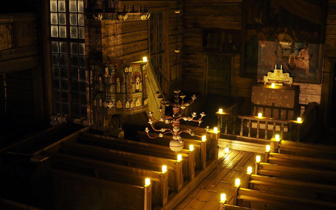 Petäjäveden vanhalle kirkolle 35.000 euroa Museovirastolta