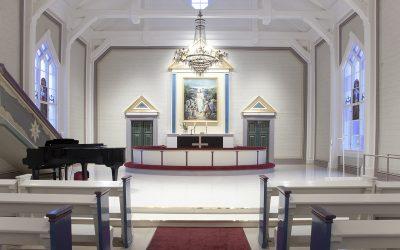 Tapulin takaa 10.4.2019:  Satu uudesta kirkosta