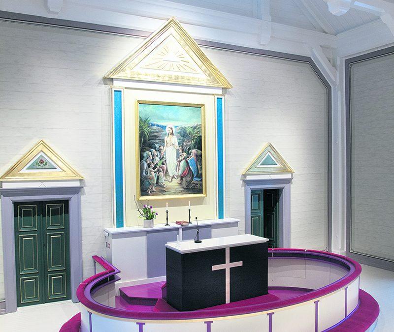 Arkkitehdin sanoin uudistetusta kirkosta (Vain tilaajille)