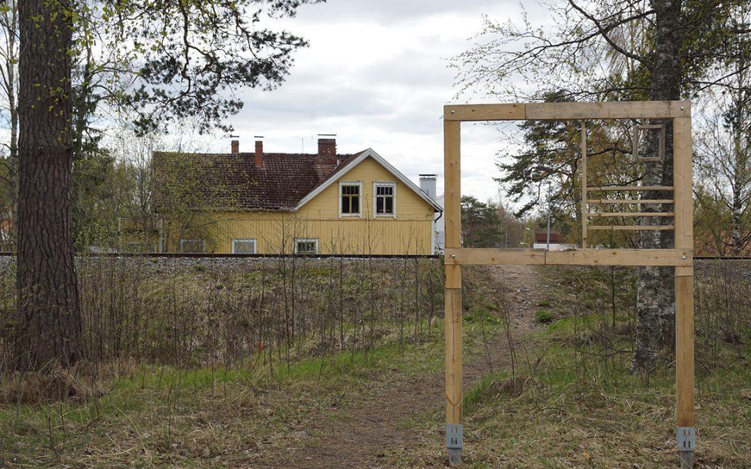 Koulutien varrella voi osallistua Liisa Tarleena Öhmanin taideteokseen (Juttu vain tilaajille)