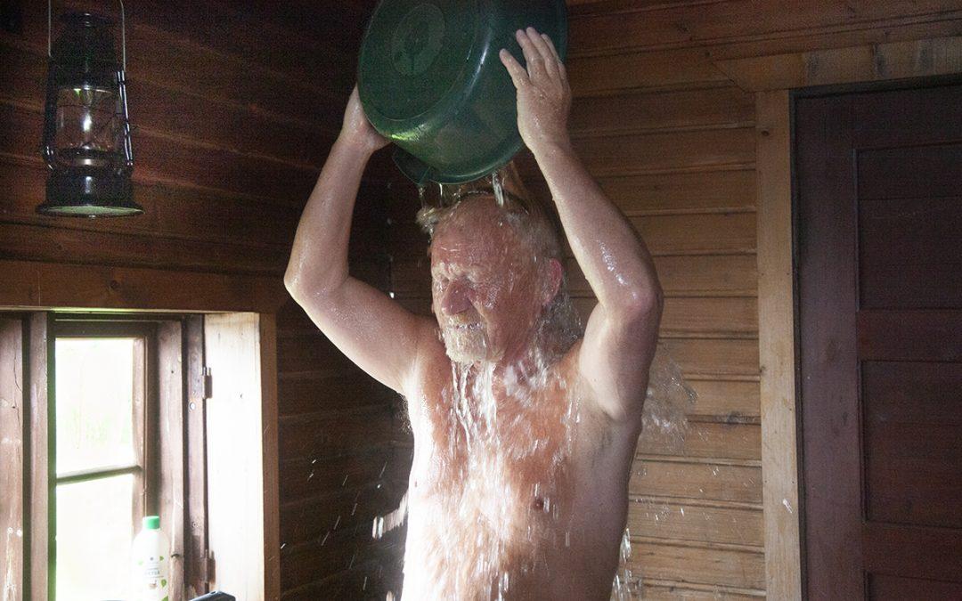 Onneksi on sauna!   (Juttu vain tilaajille)