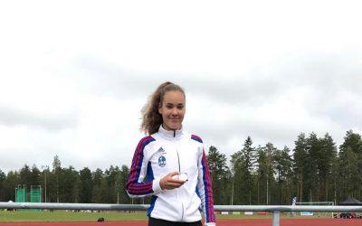Wilhelmiina Harju nappasi kaksi SM-mitalia