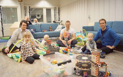 Isä-lapsi-illoissa ollaan rennosti ja samassa veneessä (Juttu vain tilaajille)