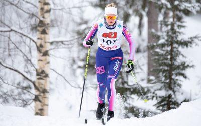 Helandereilla onnistumisia ja epäonnea nuorten SM-hiihdoissa Jyväskylässä