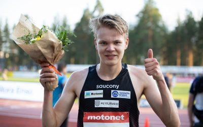 Helanderille komea ennätys 5000 metrillä ja yleisön suosikkiurheilija -palkinto